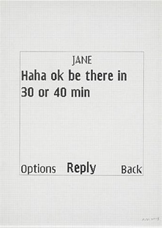 untitled text msg. [jane] by adam mcewen